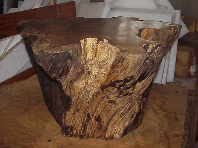 Upright Plain Stump Coffee Table In Progress More