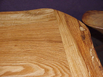 Thick Oak top - for Butche's rustic coffee table.