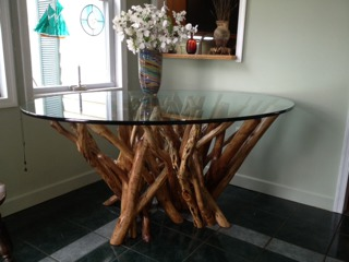 Same table in its new home, Maryland