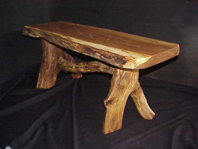 Spalted Oak Bench