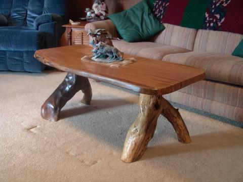 tree oak coffee table RE the Matte